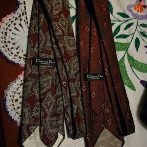 Cristian Dior ties